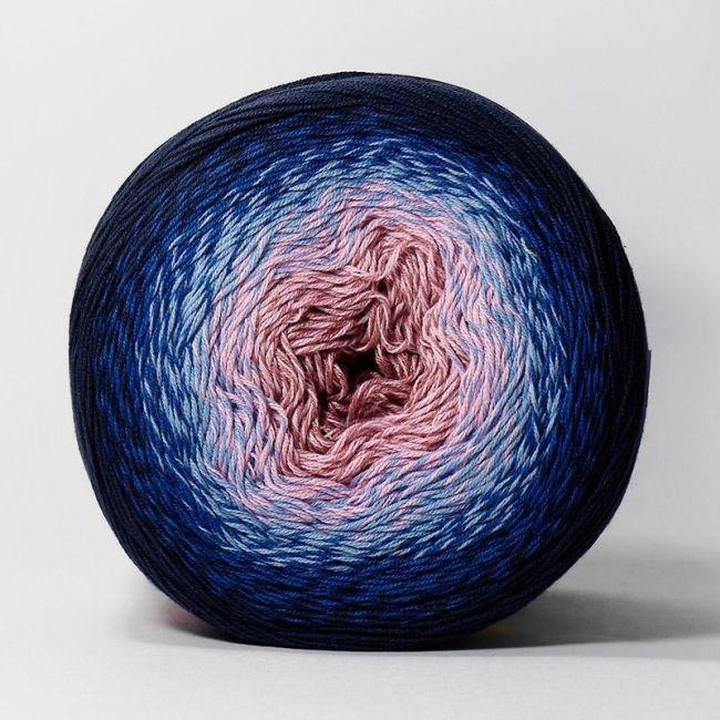 273 розовый, голубой, тёмно-синий