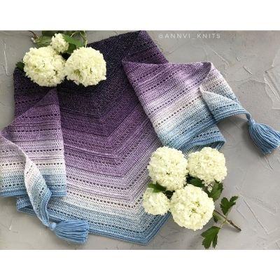 пряжа Flowers YarnArt