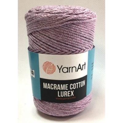 Macrame Cotton Lurex (75% Хлопок, 13% Полиэстер ,12% Металлик ) (250гр. 205м.)*4 мотка